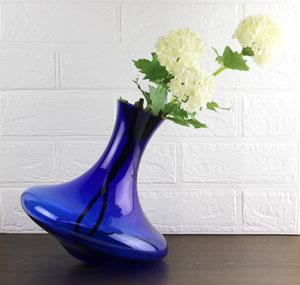 クリスタルガラス花瓶